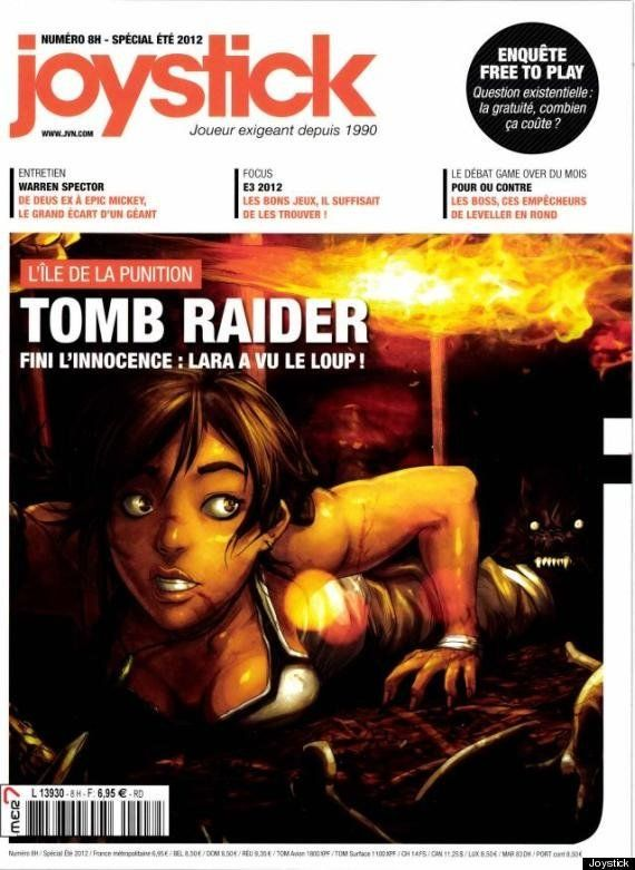 Joystick et Lara Croft: la critique d'un jeux-vidéo accusée de faire