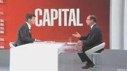 François Hollande, une interview