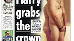 La publication des photos scandaleuses du Prince Harry dépendra de Lord