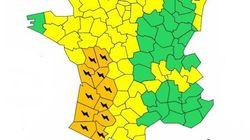 Alerte orange aux orages dans le grand Sud-Ouest, levée en