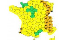Neige : 17 départements placés en vigilance orange jusqu'à mardi