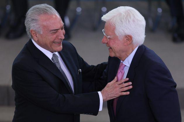 Michel Temer e Moreira Franco, proeminentes políticos do MDB, presos nesta quinta-feira