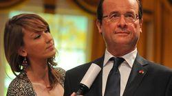 François Hollande entre chez Madame