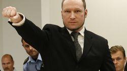 Anders Breivik, condamné à 21 ans de prison, ne fera pas
