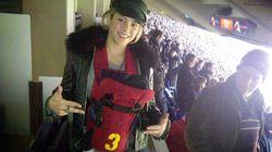 Le fils de Shakira déjà au stade pour voir son