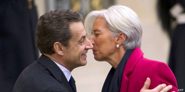 Une lettre manuscrite de Lagarde à Sarkozy dévoilée: Twitter se