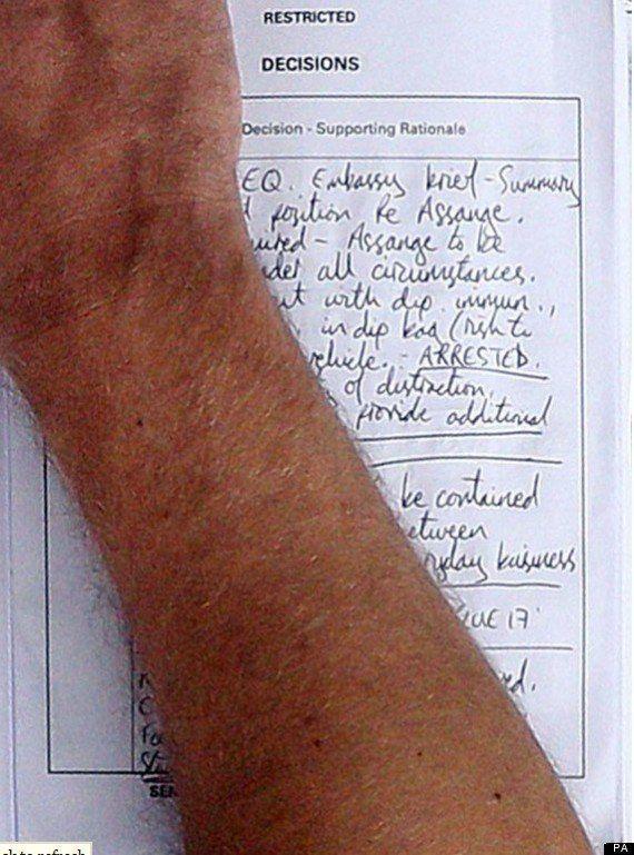 Julian Assange: des documents de la police londonienne planifient son arrestation à tout