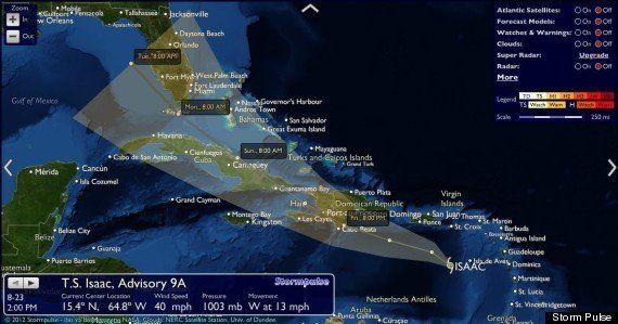 La tempête Isaac a tué quatre personnes en Haïti et devrait se transformer en ouragan avant d'atteindre...
