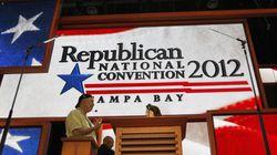 La convention républicaine ouvre, puis est aussitôt ajournée à cause de la tempête