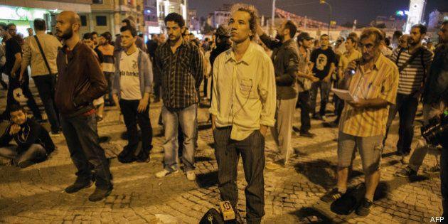Turquie: l'homme debout, nouvelle figure de la