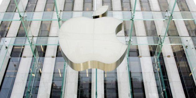 Nouveaux records en bourse pour Apple après sa victoire contre