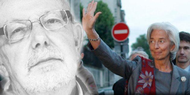 Le tweet de Jean-François Kahn - Christine Lagarde en grande prêtresse de