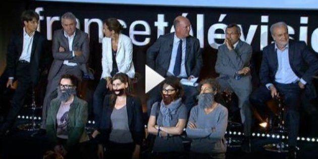 La Barbe interrompt la conférence de presse de France