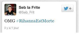 Mort de Rihanna: TF1 dément avoir annoncé cette information partie de