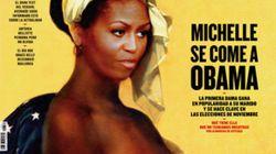 Michelle Obama en esclave : La une d'un magazine espagnol fait