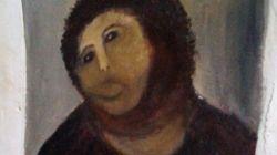 Le tableau de l'Ecce Homo va-t-il retrouver son apparence