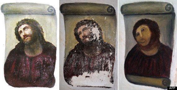Ecce Homo : le Christ de Borja, massacré par une octogénaire, va-t-il être