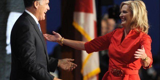 Ann Romney, atout charme de Mitt: grosses ficelles et corde