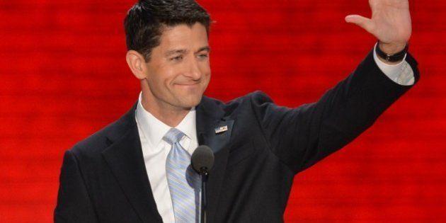 Paul Ryan se moque de Mitt Romney sur le contenu de son