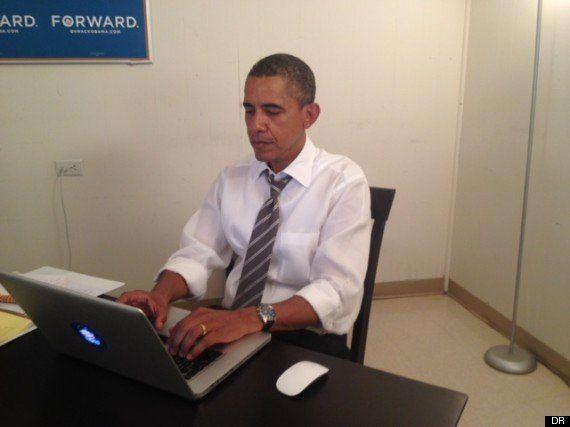 Barack Obama a répondu aux Américains sur le réseau social