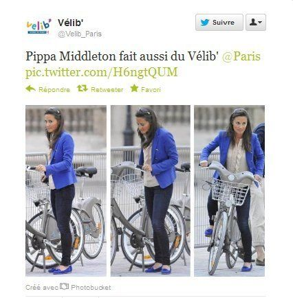 Pippa Middleton fait du