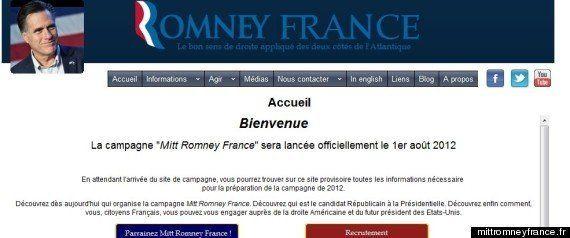 Inconnu des Français, Mitt Romney fait son meeting du