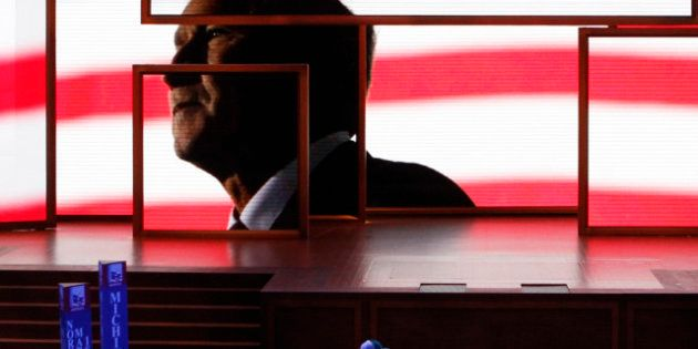 Romney et le fantôme de Bush à la convention