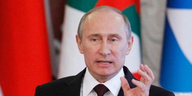 Russie : Vladimir Poutine interdit toute manifestation aux JO de