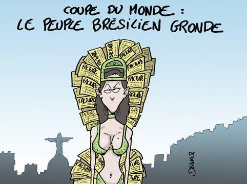 Coupe du Monde au Brésil : Et bien déchantez maintenant