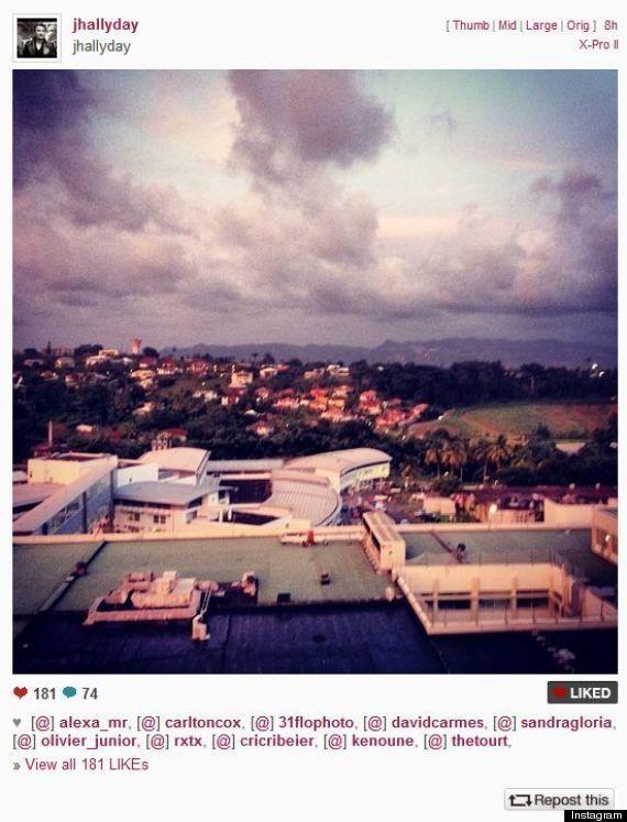 Johnny Hallyday a quitté l'hôpital de Fort-de-France pour Los
