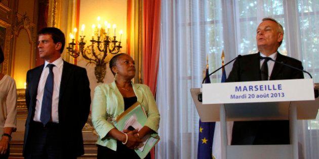 Ayrault met en garde Valls et Taubira sur l'opposition