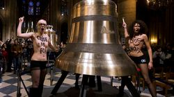 Les Femen s'en prennent à Notre-Dame: la provocation de