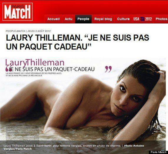 PHOTOS de Laury Thilleman nue: la Miss France 2011 perd son titre mais assume ses