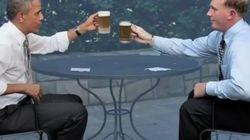 Barack Obama tient promesse et donne la recette de la bière au miel de la maison