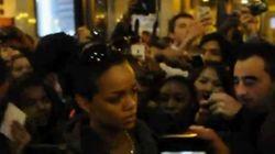 Rihanna bousculée à Paris: