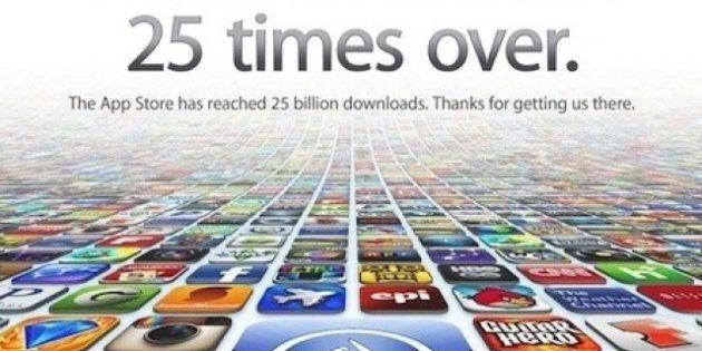 Apple: sur les 650.000 applications de l'App Store, 400.000 n'auraient jamais été téléchargées une seule