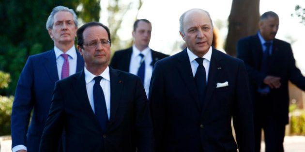Syrie: pour la première fois Hollande évoque de possibles frappes