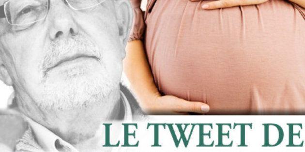 Le tweet de Jean-François Kahn - La GPA ou les bébés en