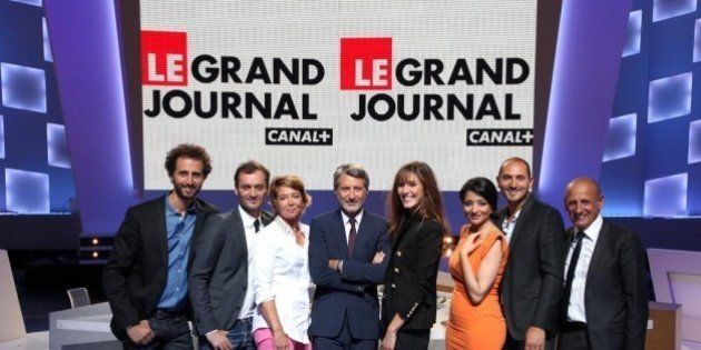 Le Grand Journal d'Antoine de Caunes dévoile sa photo de classe