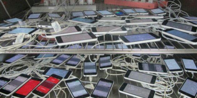 VIDEOS. Rumeurs Apple: l'iPhone 5C dévoilé par une employée du sous-traitant