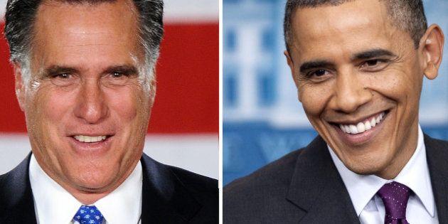 Barack Obama et Mitt Romney au coude à coude dans les sondages avant la convention