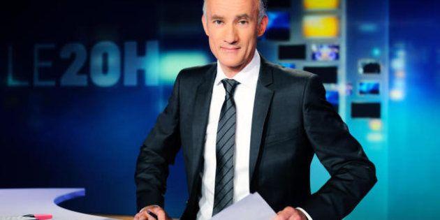 Gilles Bouleau a présenté une partie du 20 heures debout : un Journal renouvelé sur TF1 pour renouer...