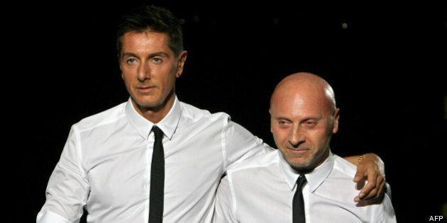 Dolce et Gabbana: les stylistes condamnés pour fraude fiscale à un an et huit mois de