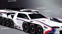 BMW imagine une voiture à 42 roues pour un