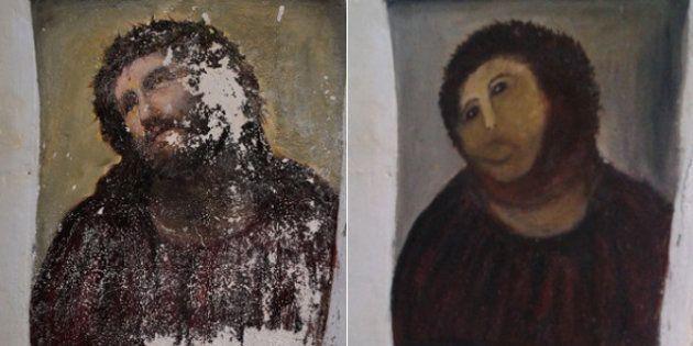 Christ de Borja: massacrez vous-mêmes l'Ecce Homo le plus connu