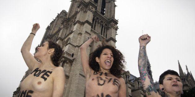 Les FEMEN et les vierges