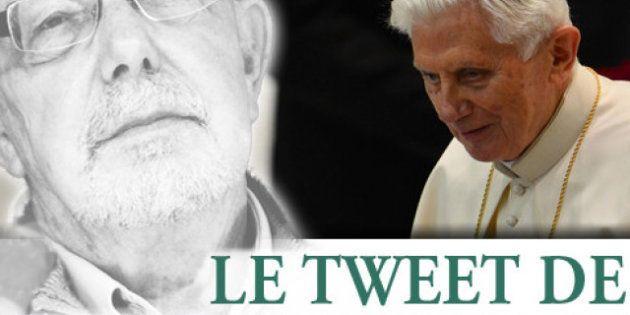 Le tweet de Jean-François Kahn - Le pope est