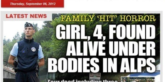 PHOTOS. Tuerie en Haute-Savoie: les médias britanniques s'emparent du