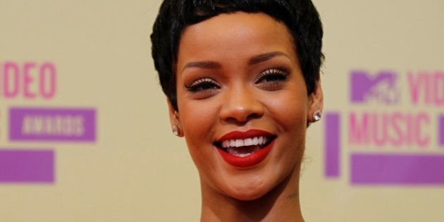 MTV Music Awards: Rihanna embrasse Chris