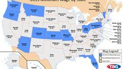 Etats-Unis: salaire minimum, l'heure de la